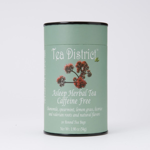 Asleep Herbal Tea from Tea District