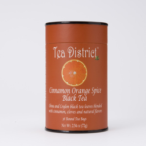 Cinnamon Orange Spice Black Tea from Tea District