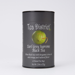 Earl Grey Supreme Black Tea from Tea District