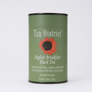 English Breakfast Black Tea from Tea District