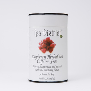 Raspberry Herbal Tea from Tea District