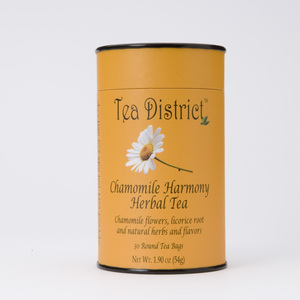 Chamomile Harmony Herbal Tea from Tea District