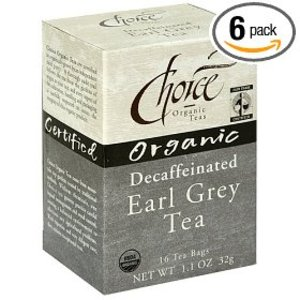 Decaffeinated Earl Grey from Choice Organic Teas