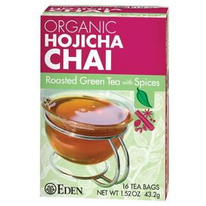 Organic Hojicha Chai from Eden