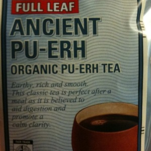 Ancient Pu-Erh from World Market