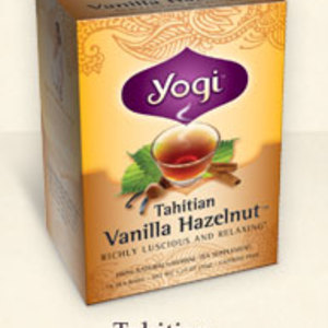 Tahitian Vanilla Hazelnut from Yogi Tea