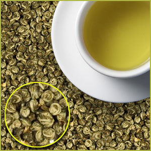 Jasmine Pearls from Green Tree Coffee & Tea
