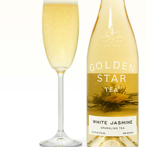 White Jasmine Sparkling Tea from Golden Star Tea Co.