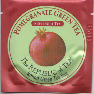 Pomegranate Green Tea from The Republic of Tea