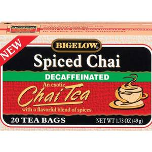 Spiced Chai Decaffeinated from Bigelow