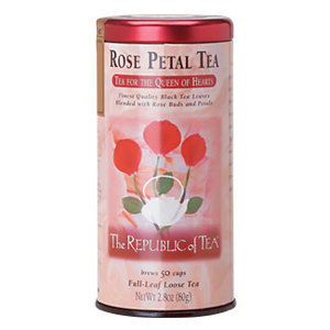 Rose Petal Tea from The Republic of Tea