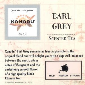Earl Grey from Xanadu Fine Teas