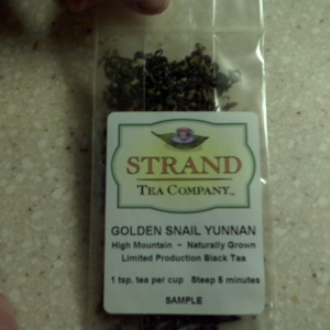 Golden Snail Yunnan from Strand Tea Company
