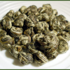 Organic Jasmine Pearl Green Tea from Zen Tara Tea