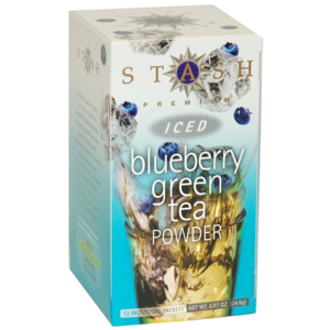Blueberry Green Iced Tea Powder from Stash Tea Company