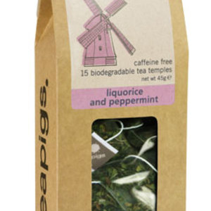 Liquorice and Peppermint from Teapigs