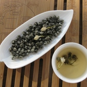 Jasmine Dragon Pearls from Shang Tea