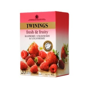 Raspberry, Strawberry and Loganberry from Twinings