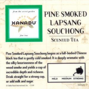 Pine Smoked Lapsang Souchong from Xanadu Fine Teas