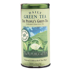 Daily Green Tea The People's Green Tea from The Republic of Tea
