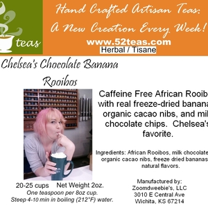 Chelsea's Chocolate Banana Rooibos from 52teas