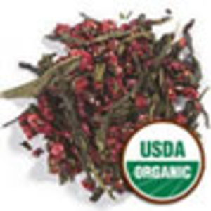 Strawberry Green Tea from Frontier Natural Products Co-op