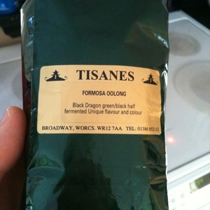 Formosa Oolong from Tisanes Tearooms