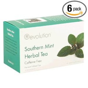 Southern Mint Herbal Tea from Revolution Tea