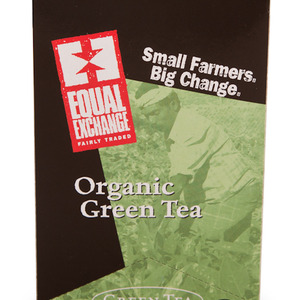 Organic Green Tea from Equal Exchange