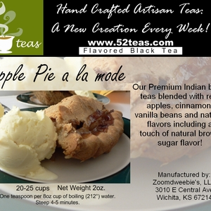 Apple Pie a la mode from 52teas