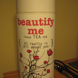 "Cherry Rose ""Beautify me"" from Distinctly Tea"