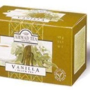 Vanilla Black Tea from Ahmad Tea