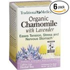 organic chamomile with lavender from Traditional Medicinals
