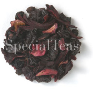 Red Berries Fruit Melange (730) from SpecialTeas