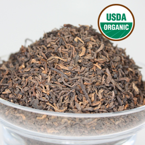 Organic Pu-erh from LeafSpa Organic Tea