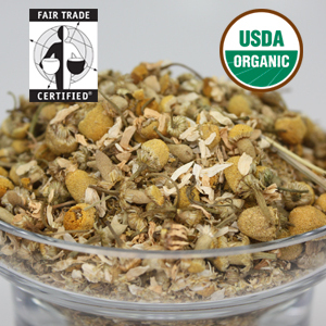 Organic Chamomile Flower from LeafSpa Organic Tea