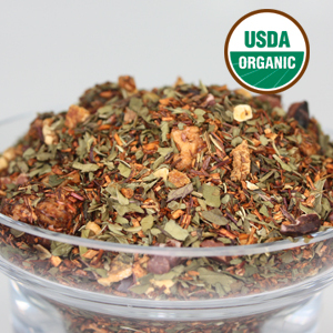 Organic Mint Chocolate Rooibos from LeafSpa Organic Tea