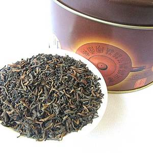 2005 Bulang Moutain Iron Jar Ripe Pu-Erh from Yunnan Colorful