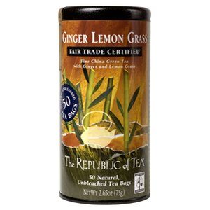 Ginger Lemon Grass (Fair Trade Certified) from The Republic of Tea