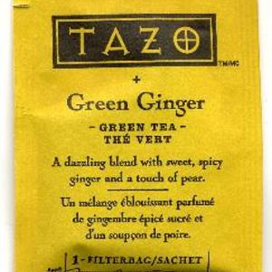 Green Ginger from Tazo