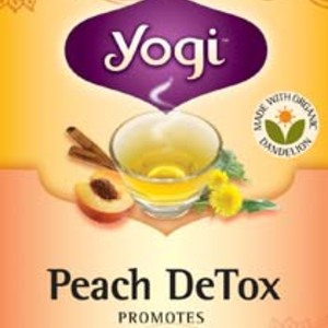 Peach Detox from Yogi Tea