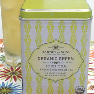 Organic Green with Citrus &amp; Gingko Iced from Harney &amp; Sons