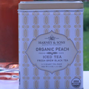 Organic Peach Iced from Harney & Sons