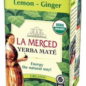 Lemon - Ginger  Yerba Mate from La Merced