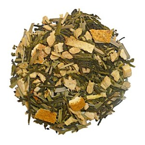 Sencha ginger orange from Tea Bar
