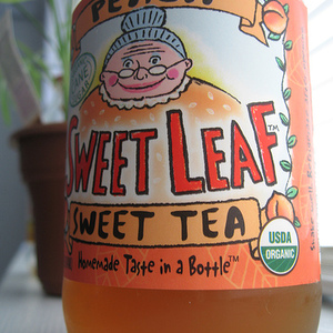 Peach Iced Tea from Sweet Leaf
