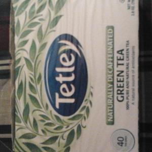 Naturally Decaffeinated Green Tea from Tetley