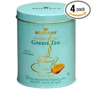 Mango Green Tea from Bentley's