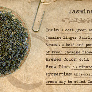 Jasmine Tea from Mountain Rose Herbs