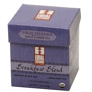 Organic Breakfast Blend Pyramid Tea from Equal Exchange